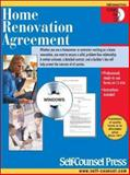 Home Renovation Agreement, Self-Counsel Press Staff, 1551807904