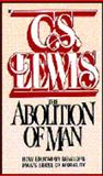 The Abolition of Man, Lewis, C. S., 0020867905