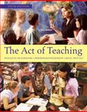 The Act of Teaching, Jenkins, Deborah Bainer and Cruickshank, Donald, 0078097916