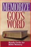 Memorize God's Word, Moody Press Editors, 0802467911