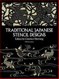 Traditional Japanese Stencil Designs, Clarence P. Hornung, 0486247910