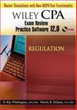 Wiley CPA Examination Review Practice Software 12. 0 Regulation, Delaney, Patrick R., 0471797928