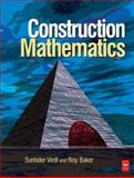Construction Mathematics, Virdi, Surinder Singh and Baker, Roy T., 0750667923