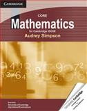 Core Mathematics for Cambridge IGCSE, Audrey Simpson, 0521727928