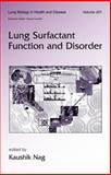 Lung Surfactant Dysfunction, NAG, 0824757920