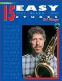 15 Easy Jazz, Blues and Funk Etudes, Bob Mintzer, 0769297927