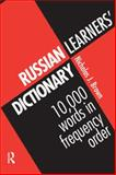 Russian Learner's Dictionary, Nicholas J. Brown, 0415137926