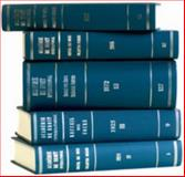 Recueil des Cours, Collected Courses, Tome/Volume 367, Académie de Droit International de la Ha, 900426793X