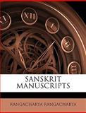 Sanskrit Manuscripts, Rangacharya Rangacharya, 1149527935
