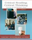 Critical Reading Critical Thinking : Focusing on Contemporary Issues (with MyReadingLab Student Access Code Card), Pirozzi, Richard and Starks-Martin, Gretchen, 020572793X