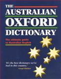 The Australian Oxford Dictionary, Moore, Bruce, 0195507932