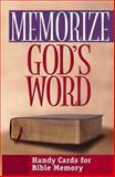Memorize God's Word, Moody Press Editors, 0802467938