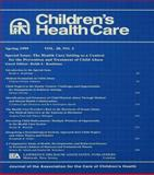 The Health Care Setting as a Context for the Prevention and Treatment of Child Abuse 9780805897937