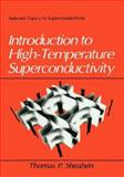 Introduction to High-Temperature Superconductivity 9780306447938