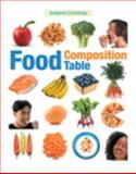 Food Composition Table, Benjamin Cummings Staff and Pearson Education Staff, 032166793X
