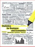 Statistics for Business and Economics, Newbold, Paul and Thorne, Betty, 0321937945