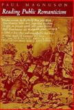 Reading Public Romanticism 9780691057941