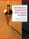 Differential Equations and Linear Algebra, Annin, Scott A. and Goode, Stephen W., 0130457949