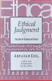 Ethical Judgment 9781560007944