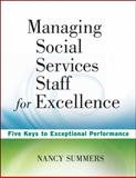 Managing Social Service Staff for Excellence 9780470527948