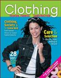 Clothing : Fashion, Fabrics and Construction, Weber, Jeanette, 0078767954