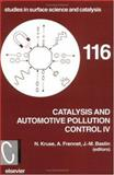 Catalysis and Automotive Pollution Control IV 9780444827951