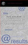 Developing a Questionnaire, Gillham, Bill, 0826447953