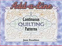 Add a Line Continuous Quilting Patterns, Helen Squire, 157432795X