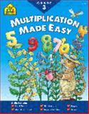 Multiplication Facts Made Easy 3-4, School Zone Publishing Company Staff, 0887437966