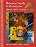 Mathematics Methods for Elementary and Middle School Teachers, Hatfield, Mary M. and Morrow, Jean, 0471387967