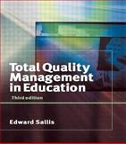 Total Quality Management in Education, Sallis, Edward, 0749437960