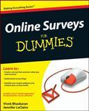Online Surveys for Dummies, Jennifer LeClaire and Vivek Bhaskaran, 047052796X
