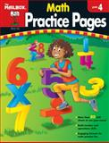 Math Practice Pages, The Mailbox Books Staff, 1562347969
