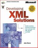 Developing XML Solutions, Microsoft Official Academic Course Staff and Sturm, Jake, 0735607966