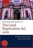 Land Registration Act 2002, Abbey, Robert M. and Richards, Mark B., 0199257965