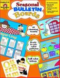 Seasonal Bulletin Boards, Grades K-6, Evan-Moor, 1557997969