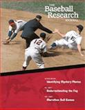 The Baseball Research Journal, Society for American Baseball Research Staff, 0910137978