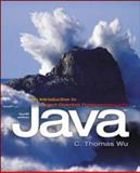 Introduction to Object-Oriented Programming with Java with Olc Bi-Card, Wu, 0073107972