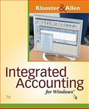 Integrated Accounting for Windows®, Klooster, Dale A. and Allen, Warren, 0538747978