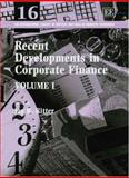 Rec Dvpts in Corp Finance 9781843767978