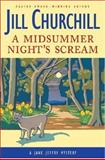 A Midsummer Night's Scream, Jill Churchill, 0060097981