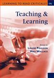 Learning to Read Critically in Teaching and Learning, Poulson, Louise, 0761947981
