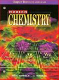 Modern Chemistry : Chapter Tests with Answer Key, Holt, Rinehart and Winston Staff, 0030517982