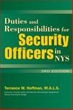 Duties and Responsibilities for N. Y. S. Security Officers 9780930137984