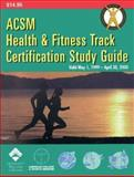 Acsm Health and Fitness Track Certification 1999, American College of Sports Medicine, 0683307983