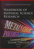 Handbook of Material Science Research, Renard, Charles, 1607417987