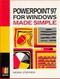 Powerpoint 97 for Windows Made Simple, Stephen, Moira, 0750637994