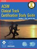 ACSM Clinical Track Certification 1999, ACSM, 0683307991