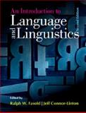 An Introduction to Language and Linguistics 2nd Edition