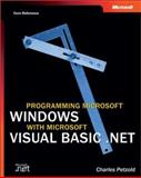 Programming Microsoft Windows with Microsoft Visual Basic .Net, Petzold, Charles, 0735617996